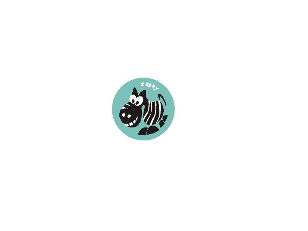 Družinová nášivka - Zebra 2
