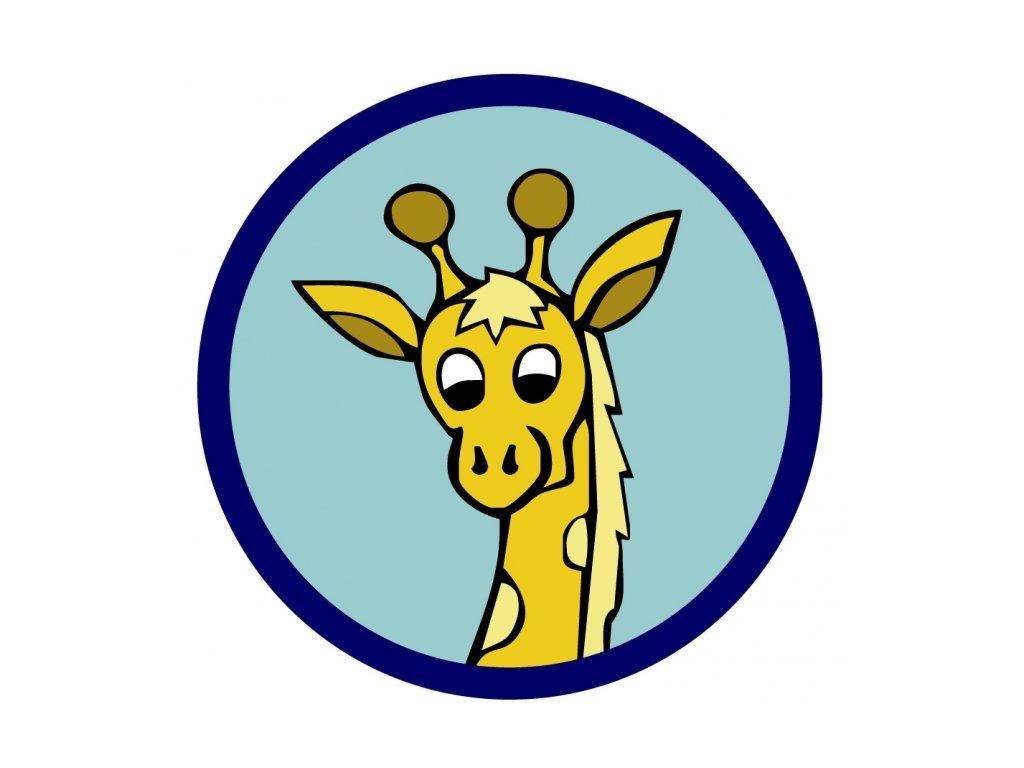 Družinová nášivka - Žirafa