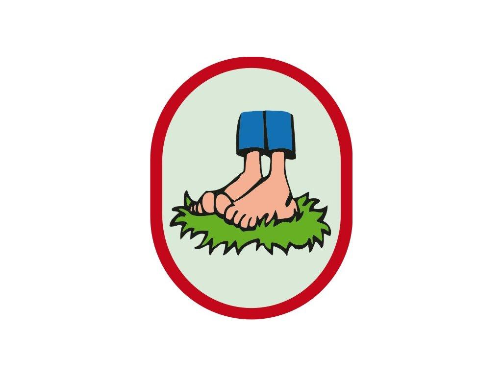 Nášivka Výzva Bosé nohy