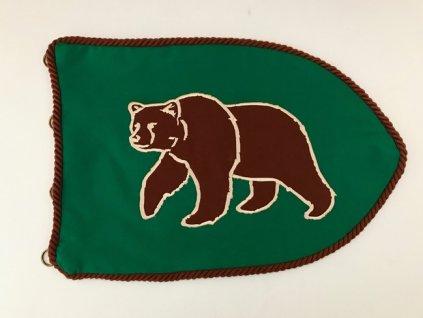 """Družinová vlajka """"Medveď"""""""