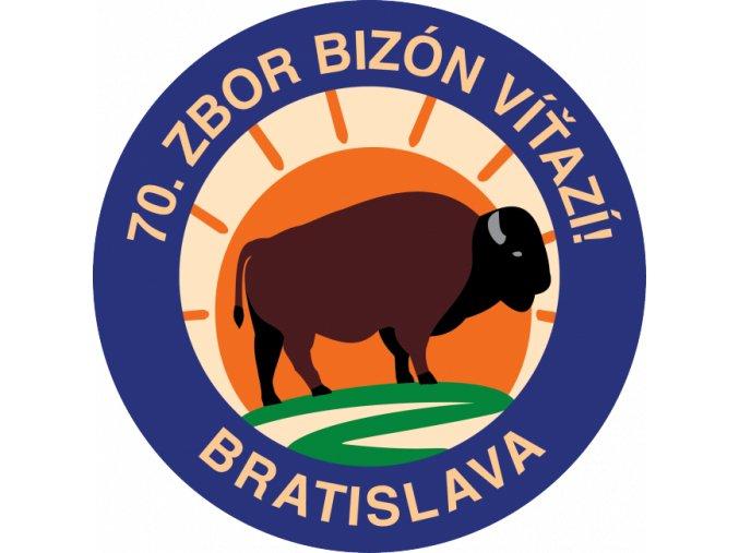 Zborová nášivka - 70. zbor Bratislava