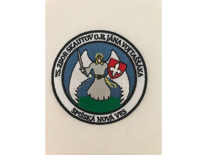 Zborová nášivka - 75. zbor Spišská Nová Ves