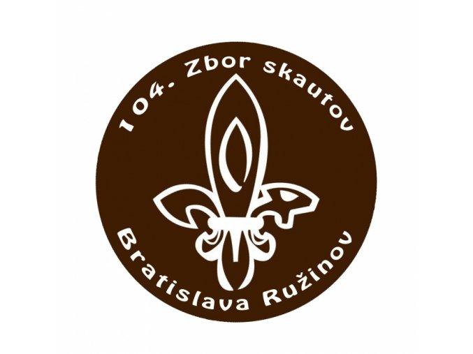 Zborová nášivka - 104. zbor Bratislava