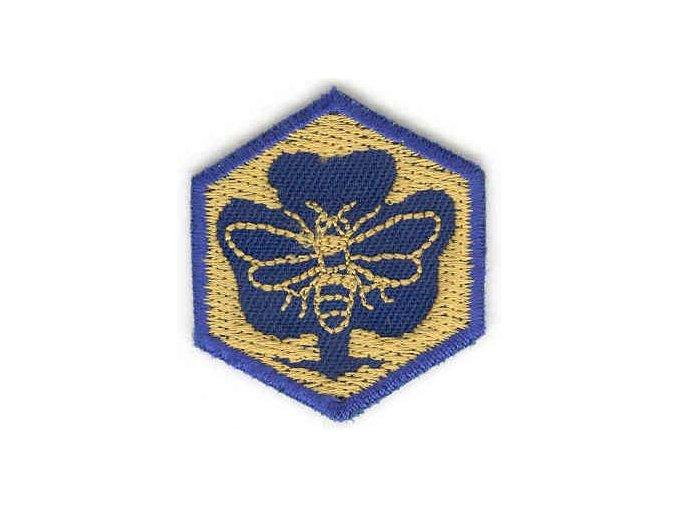 Nášivka - Včielka sľubová
