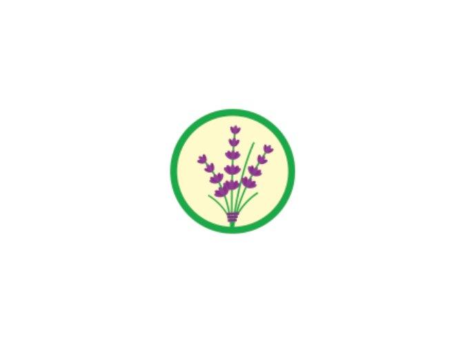 Nášivka Odborka Bylinkár - zelený lem