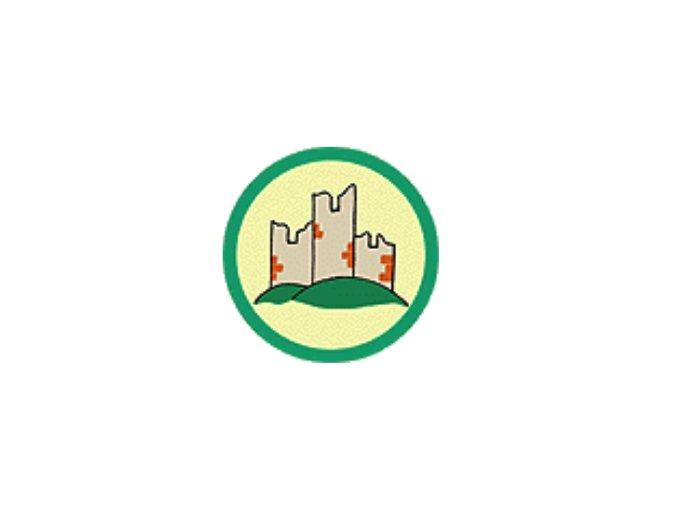 Nášivka Odborka Historik - zelený stupeň
