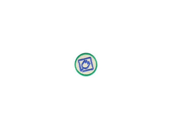 Nášivka Odborka Kutil - zelený stupeň