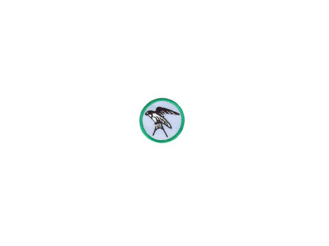 Nášivka Odborka Ornitológ - zelený stupeň