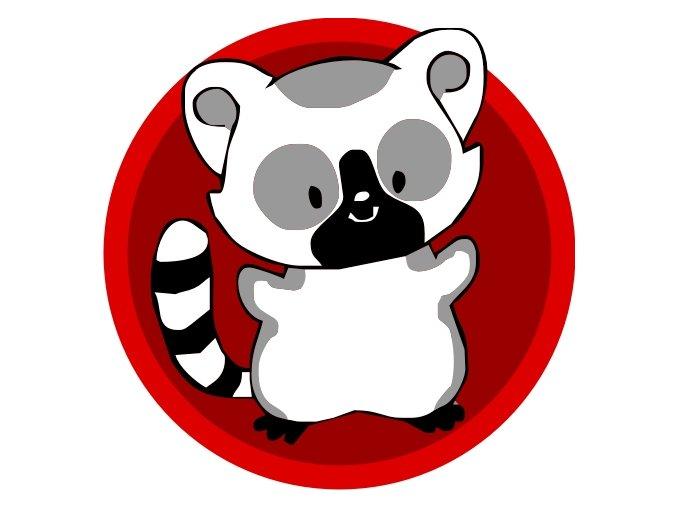 Družinová nášivka - Lemur
