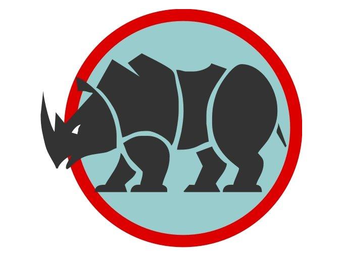 Družinová nášivka - Nosorožec