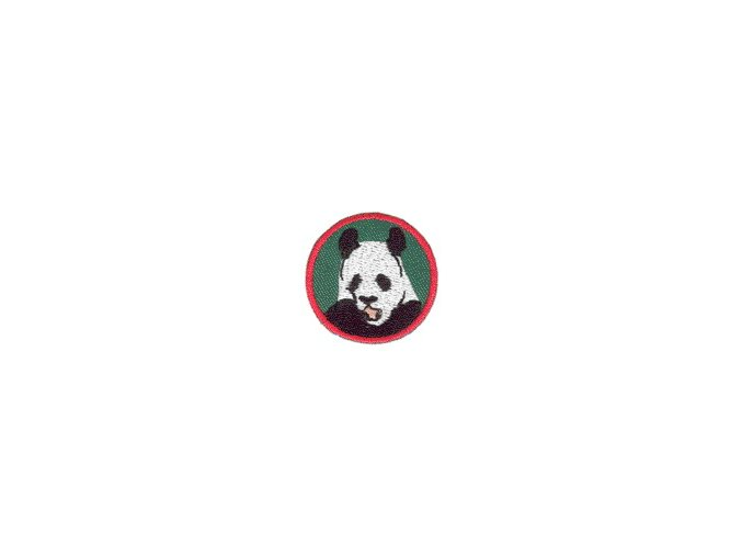 Družinová nášivka - Panda