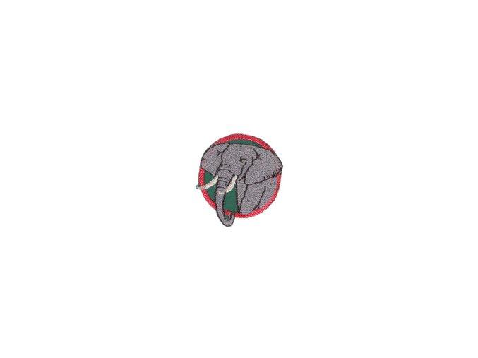 Družinová nášivka - Slon