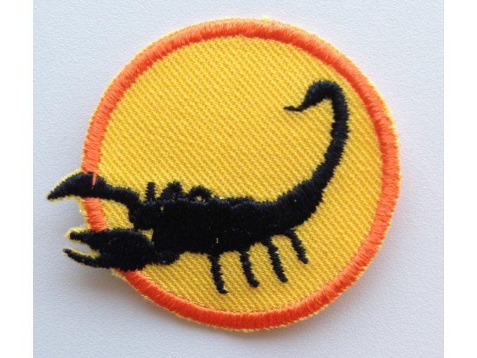 Družinová nášivka - Škorpión