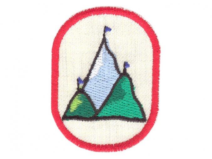 Nášivka Výzva Tri vrcholy