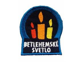 Nášivka - Betlehemské svetlo (modrá)