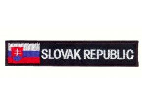 Nášivka - Slovak republic