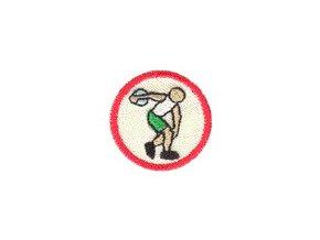 Nášivka Odborka Atlét - červený stupeň
