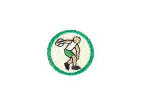 Nášivka Odborka Atlét - zelený stupeň