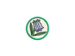 Nášivka Odborka Botanik - zelený stupeň