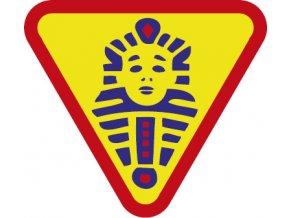 Nášivka Odborka vĺčatá - Egypťan