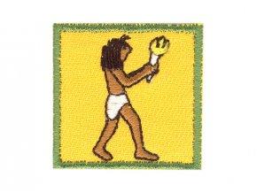 Nášivka - Mauglí človek