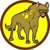 Družinová nášivka - Hyena