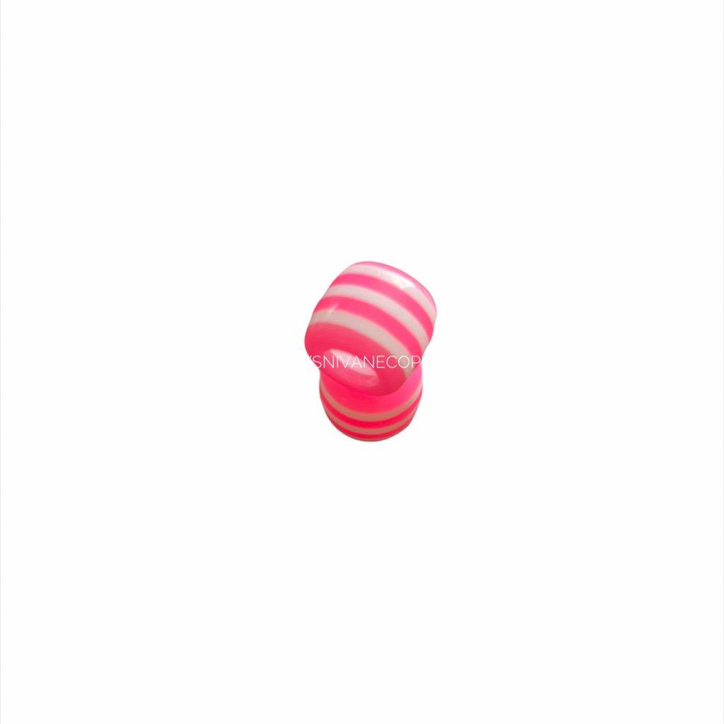 Korálka ružová - 11mm
