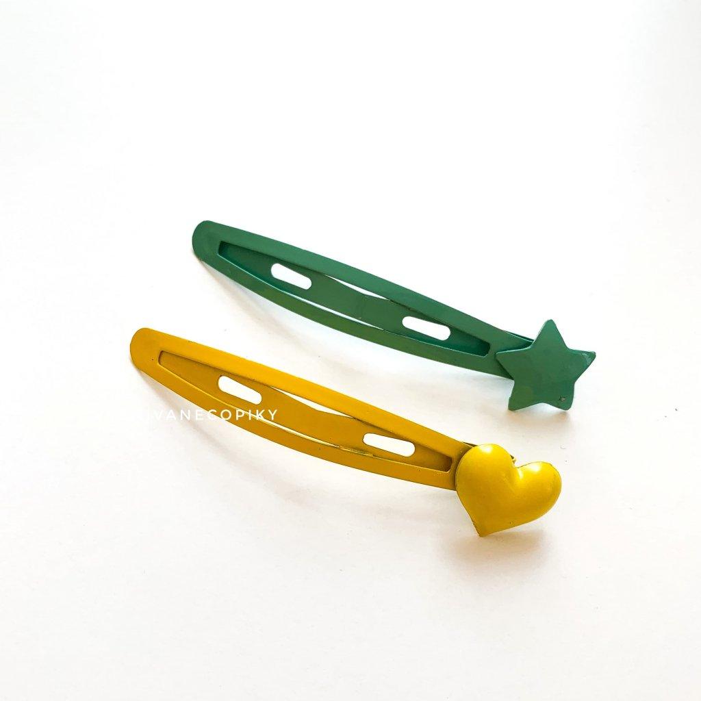 pukačka zelená green žltá yellow