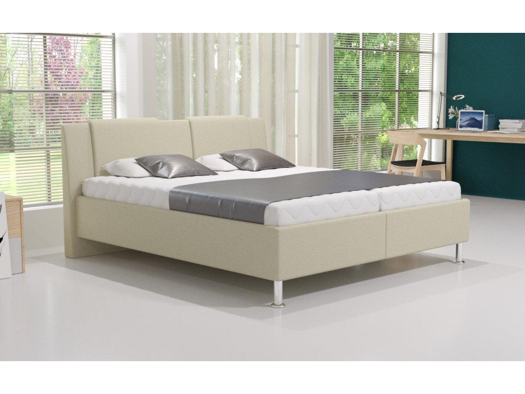Manželská postel Adele s úložným prostorem