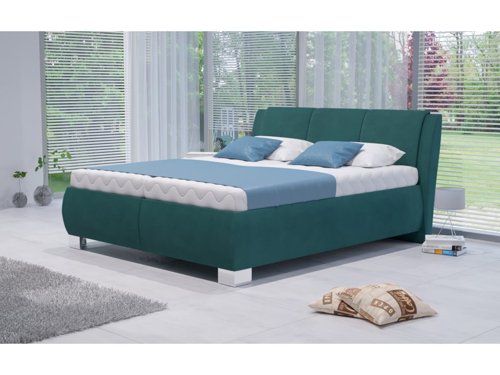 Manželská postel Atlantis s úložným prostorem