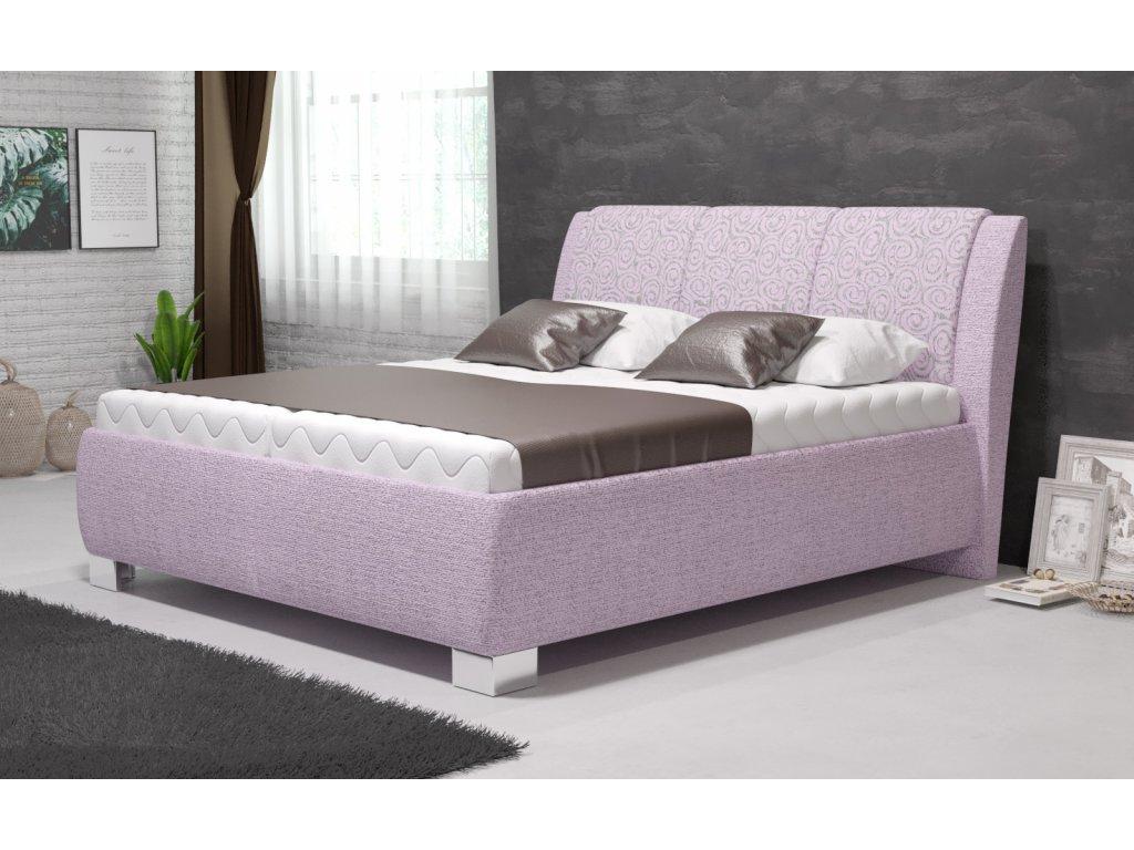 Manželská postel Samba