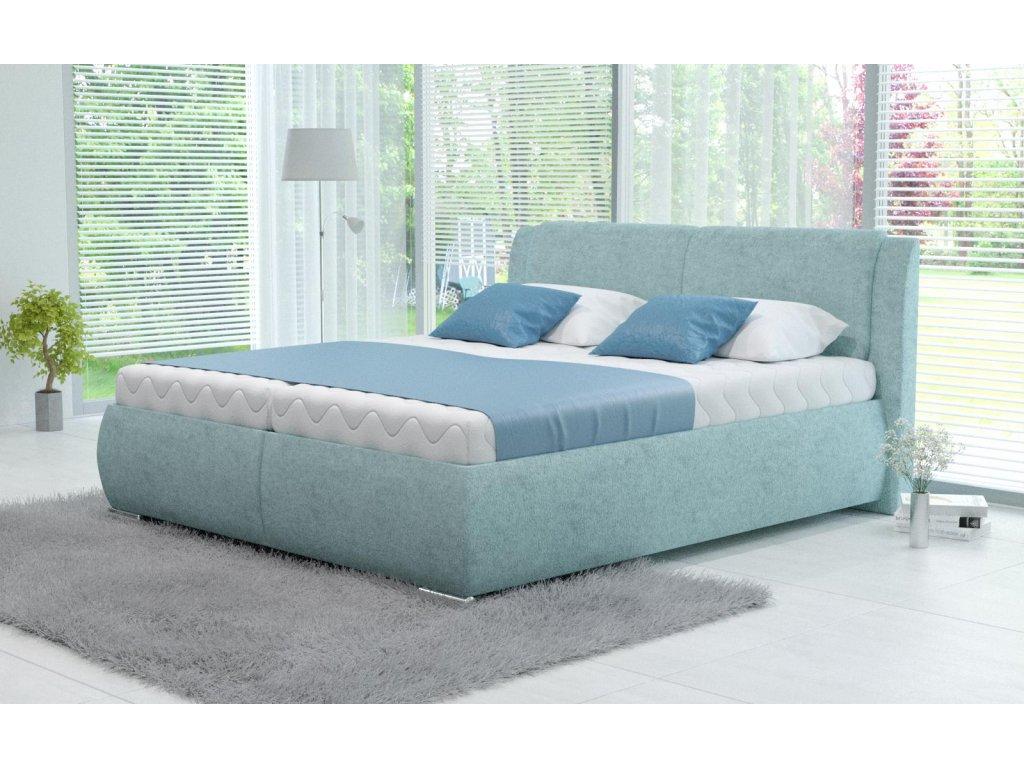 Manželská postel Sawana s úložným prostorem