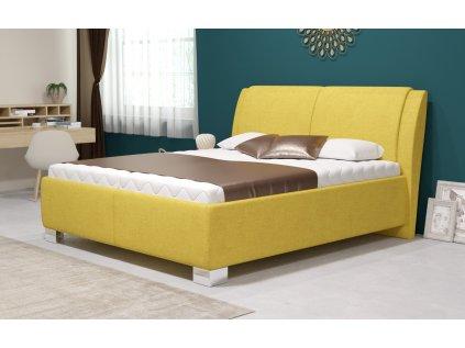 Manželská postel Chantal s úložným prostorem, matrace Standard, 180x200 cm