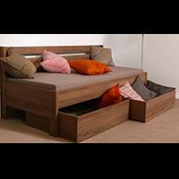 Rozkládací postele z lamina