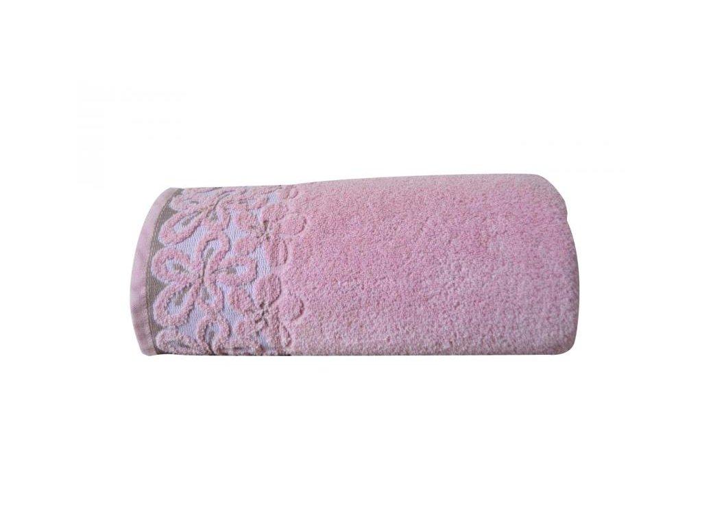 Bella ručník,osuška růžová
