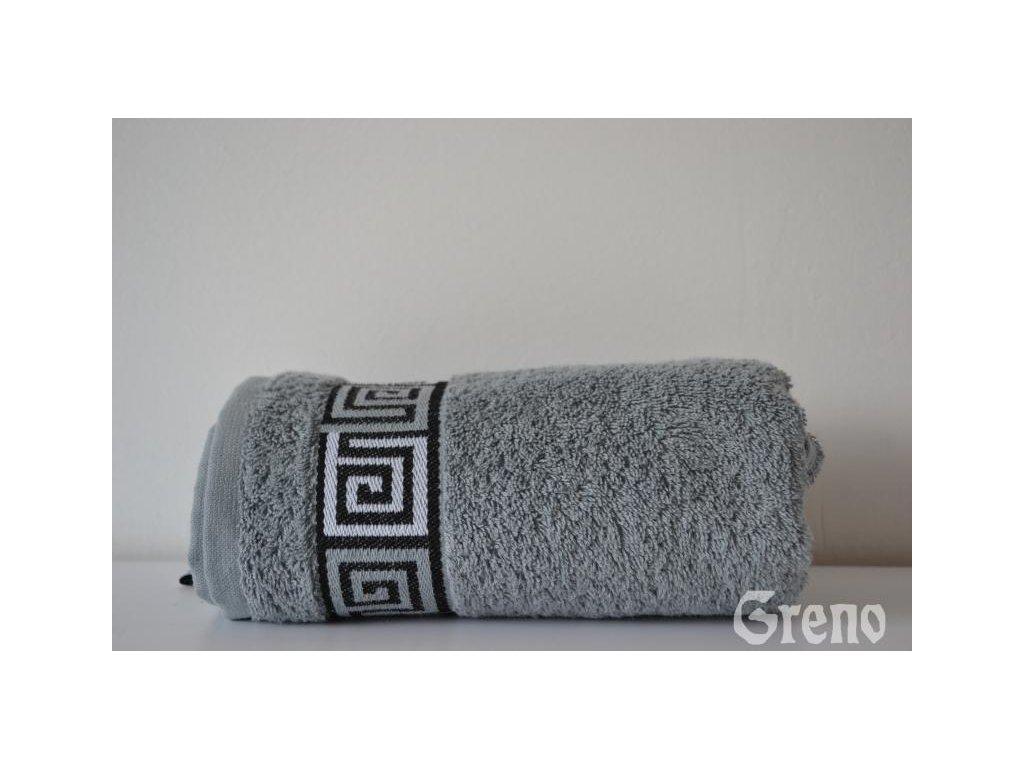 Dunaj osuška,ručník popelavý