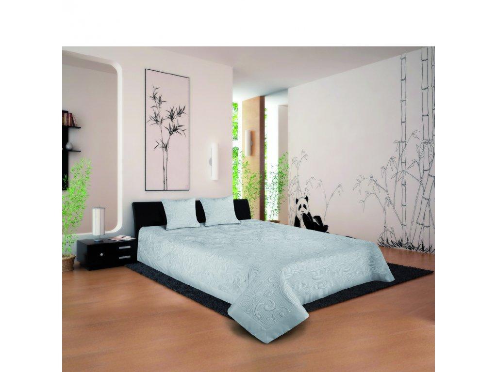 Narzuta Oriental listki platinum148