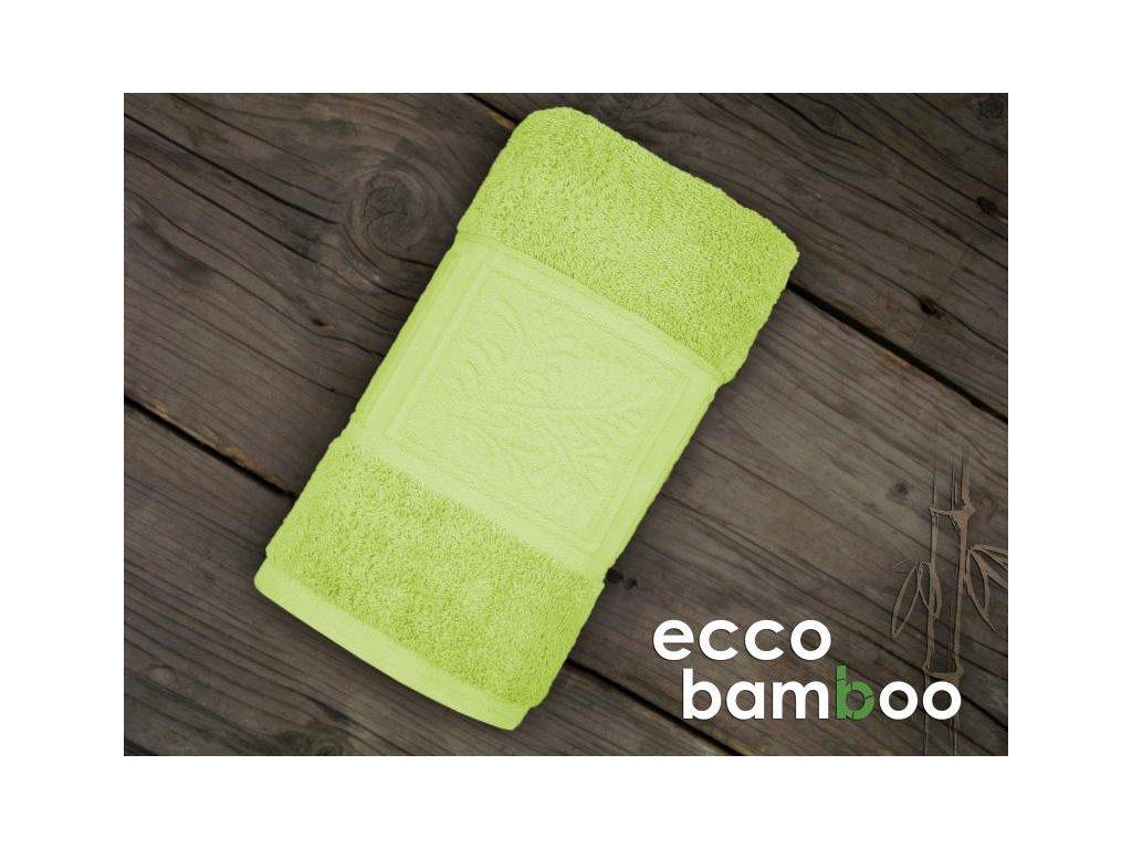 Ecco Bamboo ručník,osuška zelená