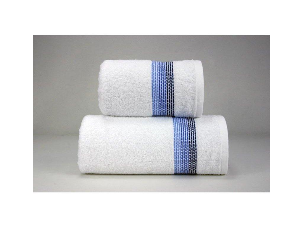 Ombre ručník,osuška bílá,granátová