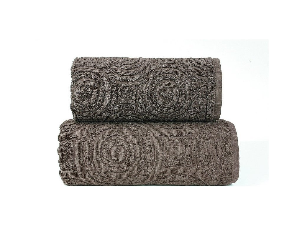 Emma 2 ručník,osuška hnědá