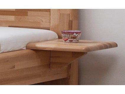 nocni stolek BMB adriana zavesny masiv buk jadrovy lak
