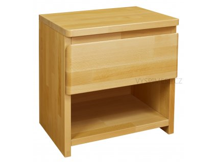 Purtex noční stolek jedna zásuvka LUX