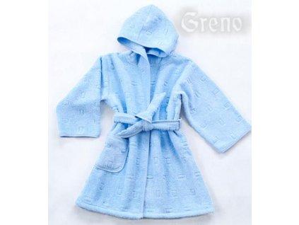 Dětský župan modrý