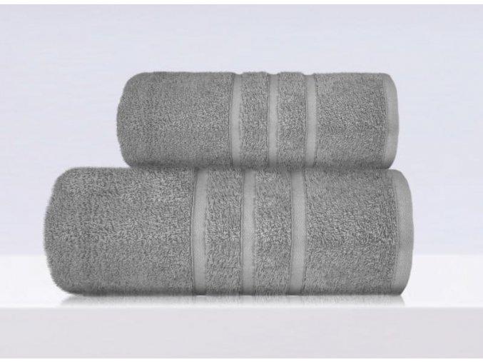 B2B ručník,osuška šedá