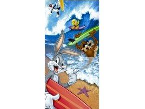 frote osuska bugs bunny na surfu 75x150 cm