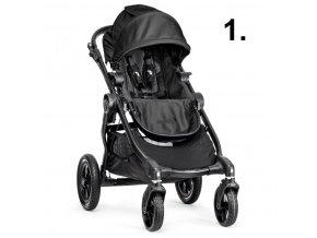 Baby Jogger City Select černý rám