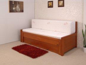 Rozkládací dřevěná postel Sokosti