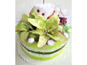 veratex textilni dort svicen zlutozeleny
