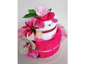 veratex textilni dort dvoupatrovy pro vaseho milacka 2ks rucnik