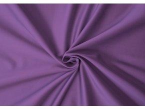 Saténové prostěradlo fialové